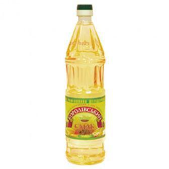 Олія Соняшникова Королівський смак 0.85л
