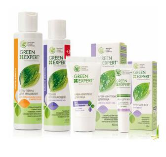 Засоби догляду за обличчям Green Expert
