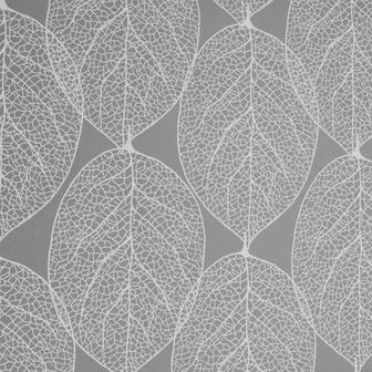Клейонка BLEIKSTARR 140см Листя сірий