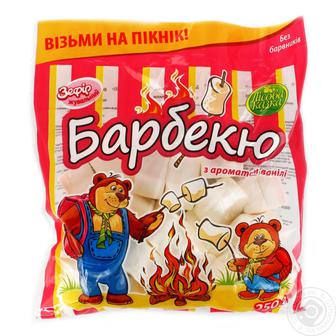 Зефир жевательный с ароматом ванили Барбекю 50 г