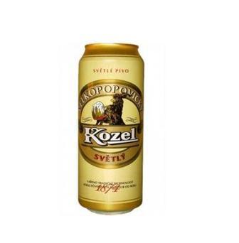 Пиво Premium Lager kozel 0,5л