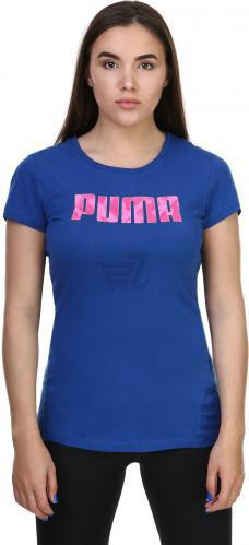 Футболка Puma Elevated Tee W р. L синій