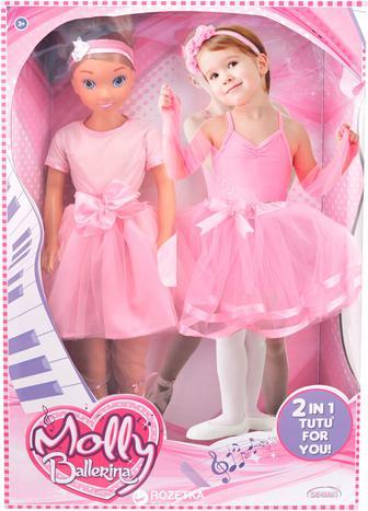 Лялька BAMBOLINA - ПРИМА-БАЛЕРИНА 80 см спідниця та пуанти для дівчинки