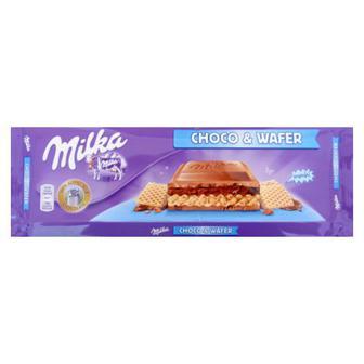 Молочный шоколад милка с хрустящими вафлями и ореховой начинкой 250г