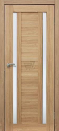Дверне полотно ПВХ ОМіС Cortex 02 ПО 700 мм дуб тобако