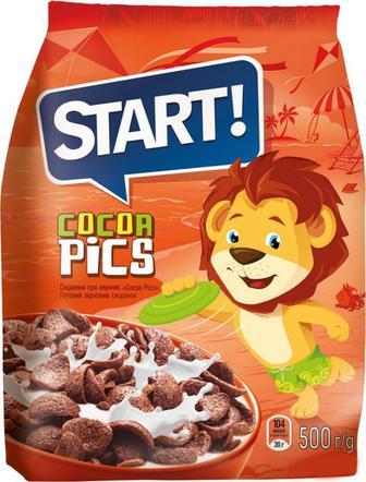 Сніданок зерновий Start Cocoa pics, 500 г