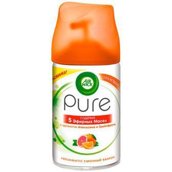 Освіжувач Air Wick Pure змінний Апельсин-грейпфрут 250мл