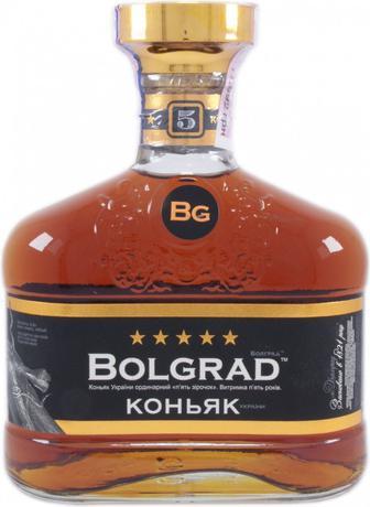 Коньяк 5 зірок Болград 0,5 л
