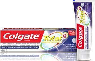 Зубная паста Colgate Тотал12 75мл