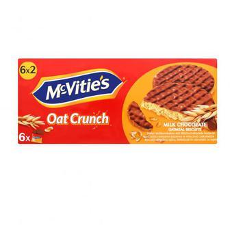 Печиво McVitie`s вівсяне вкрите молочним шоколадом 6 на37,5г