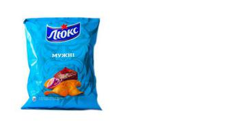 Скидка 20% ▷ Чіпси М'ясо-соус барбекю, ЛЮКС, 133г