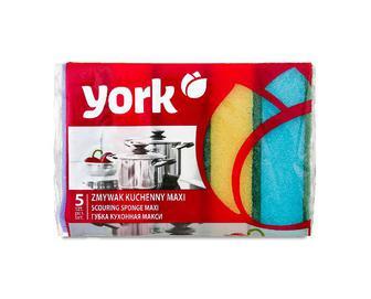 Губка кухонна York MAXI, 5шт