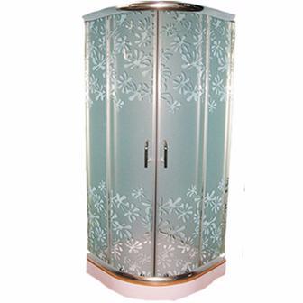 Кабіна душова  Delfi L112 blossom 90x90 см