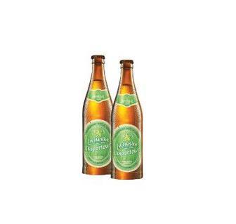 Пиво Експортове світле Львівське 0,5 л