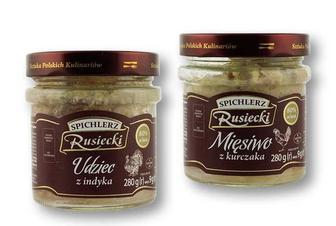 Консерви м'ясо курки/ м'ясо індика Spichlerz Rusiecki 280 г