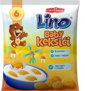 Детское печенье Lino с 5 витаминами и минералами 140 г