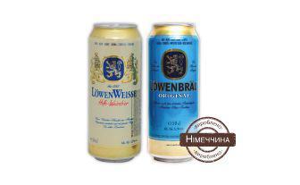 Пиво оригінал, пшеничне Ловенбрау 0,5 л
