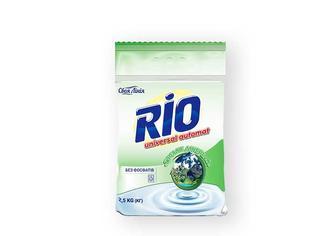 Засіб миючий синтетичний порошковий RIO Universal автомат, Гірське джерело без фосфатів Своя лінія 2,5 кг