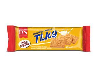 Печиво «Домашнє свято» Ті & Ко з ароматом пряженого молока, 40г