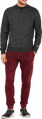 Джемпер Nike FCB M NSW CRW FT AUT HTR р. M чорний