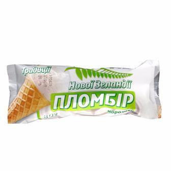Морозиво у в/ф стаканчику пломбір або пломбір з какао Laska 80 г