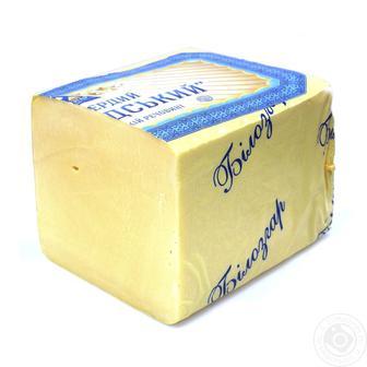 Сир твердий Голландський 45% Білозгар 100 г