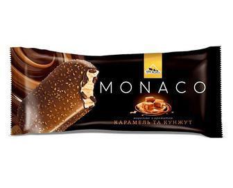 Морозиво Monaco карамель та кунжут Труфель та апельсин Три Ведмеді 80г ...