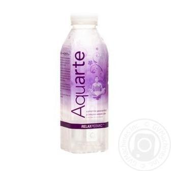 Вода Aquarte Релакс з екстрактом ромашки і смаком маракуйї 500мл
