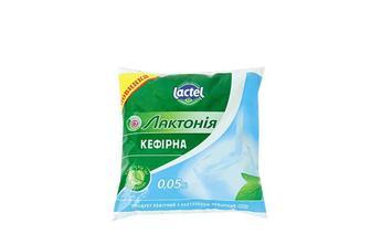 Продукт кефірний з лактулозою, нежирний, 0,05% Лактонія 400 г