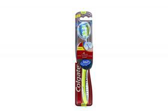 Зубна щітка Colgate 360 міжзубна чистка medium