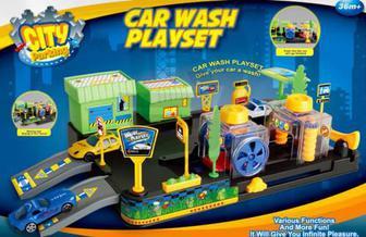 Ігровий набір Dove Toy City Parking Автомийка 32033