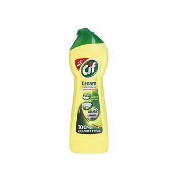 Средство д/чистки, крем для чистки Актив Лимон Cif 500мл