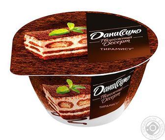 Десерт 6,4% Тирамиссу Даниссимо стакан 230г