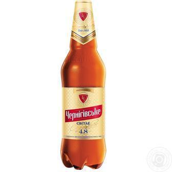Пиво світле Чернігівське 1.15 л
