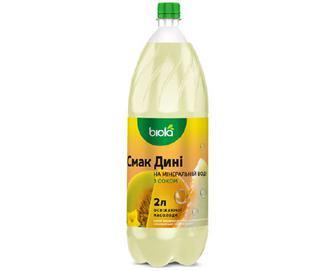 Напій «Біола» смак дині на мінеральній воді, 2л