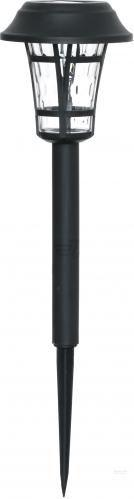 Світильник на сонячній батареї Expert Light ELW-VK8004 0.06 Вт IP54 чорний