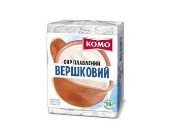 Сир плавлений «Комо» 55% жиру вершковий, 90г