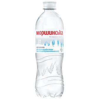 Вода мінеральна Моршинська негазована 0.5л