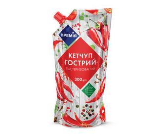 Кетчуп «Гострий» «Премія»® 300 г