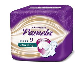 Прокладки гігієнічні Pamela Premium Ultra, 9шт/уп
