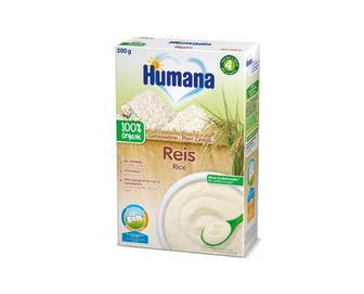 Скидка 20% ▷ Каша Humana безмолочна рисова, 200 г