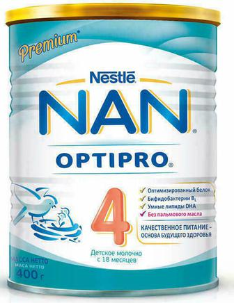 Смесь молочная Nestle NAN 4 Optipro (с 18 месяцев) 400 г