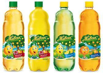 Напій Живчик яблуко/лимон 2л