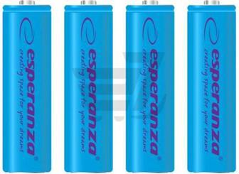 Акумулятор ESPERANZA AA (R6, 316) 4 шт. (EZA104B)