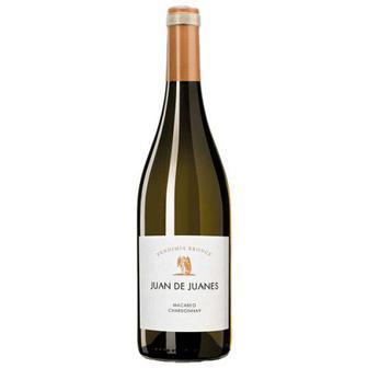 Вино Juan De Juanes Macabeo, Chardonnay біле сухе 0,75л