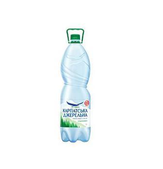 Вода мінеральна Карпатська Джерельна 2 л