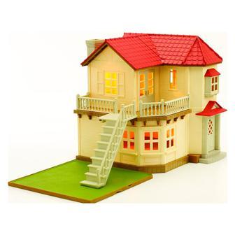 Игровой набор Большой домик со светом Sylvanian Families