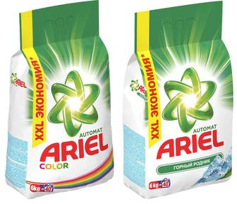 Стиральный порошок Ariel автомат 6 кг