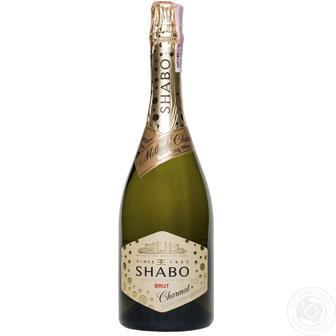 Вино игристое Shabo белое брют 750мл