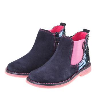 Ботинки Pablosky Pink темно-синие